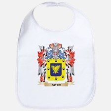 Soto Coat of Arms - Family Crest Baby Bib