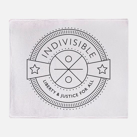 Indivisible Throw Blanket