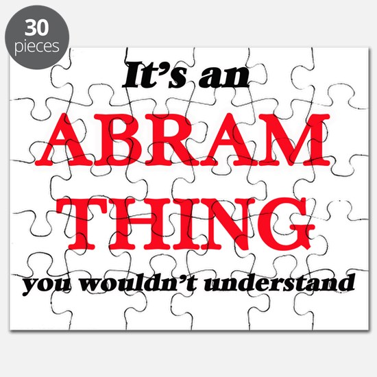 It's an Abram thing, you wouldn't u Puzzle