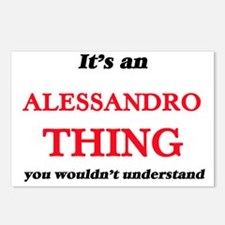 It's an Alessandro th Postcards (Package of 8)