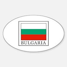 Unique Pleven Sticker (Oval)