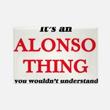 It's an Alonso thing, you wouldn't Magnets
