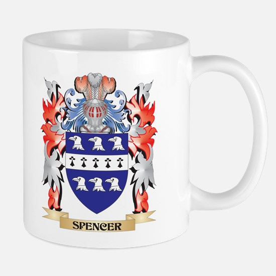Spencer Coat of Arms - Family Crest Mugs