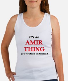It's an Amir thing, you wouldn't Tank Top