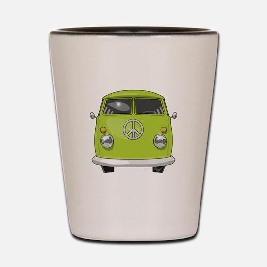 Hippie Van Shot Glass