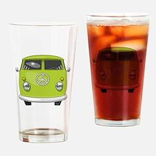 Hippie Van Drinking Glass