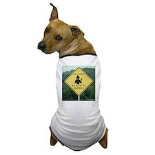 Caution Be Nice To Nurses Dog T-Shirt