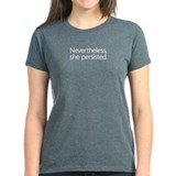 She persisted Women's Dark T-Shirt
