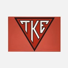 Tau Kappa Epsilon House Rectangle Magnet