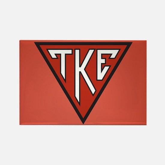 Tau Kappa Epsilon House Rectangle Magnet
