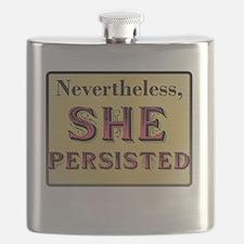 Funny Elizabeth warren Flask