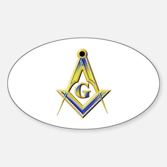 Freemason Square & Compasses Decal
