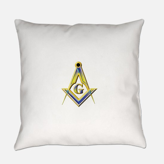 Freemason Square & Compasses Everyday Pillow