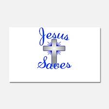 Jesus Saves Car Magnet 20 x 12