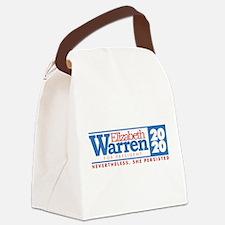 Warren 2020 Persist Canvas Lunch Bag