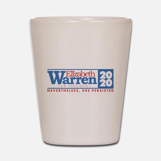 Warren 2020 Persist Shot Glass
