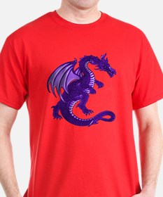 Purple Dragon Tee (Dark)