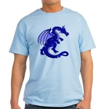 Blue Dragon Tee (Light)