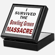 Cute Bowling green Keepsake Box