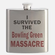 Unique Bowling green Flask