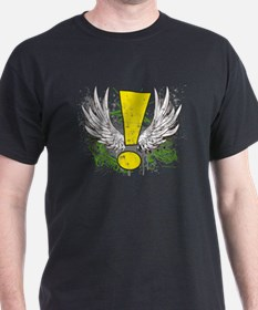 Winged Whee Exclamation Point T-Shirt