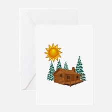 CABIN Greeting Cards