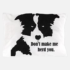 Border Collie Art Pillow Case