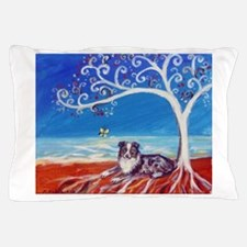 Australian Shepherd Blue Merle Pillow Case