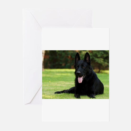German Shepherd Greeting Cards