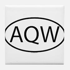 AQW Tile Coaster