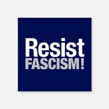 "Resist Fascism Square Sticker 3"" X 3"""