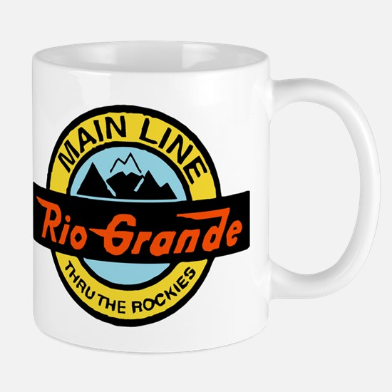 Rio Grande Rockies Railway Mugs