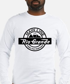 Rio Grande Rockies Railroad Long Sleeve T-Shirt
