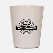 Rio Grande Rockies Railroad Shot Glass