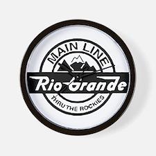 Rio Grande Rockies Railroad Wall Clock