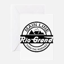 Rio Grande Rockies Railroad Greeting Cards