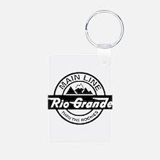 Rio Grande Rockies Railroad Keychains