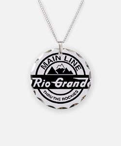 Rio Grande Rockies Railroad Necklace