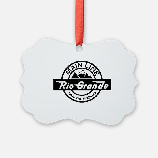 Rio Grande Rockies Railroad Ornament