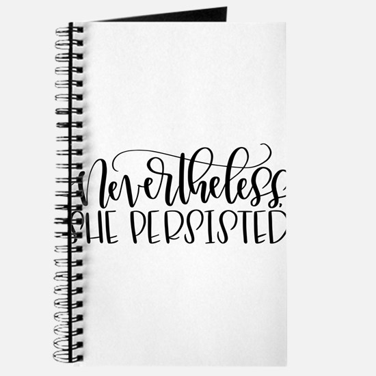 Nevertheless, She Persisted Journal