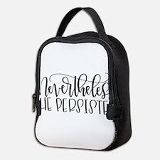 Nevertheless, She Persisted Neoprene Lunch Bag
