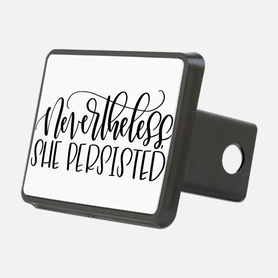 Nevertheless, She Persiste Hitch Cover