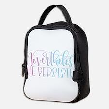 Nevertheless, She Persisted rai Neoprene Lunch Bag