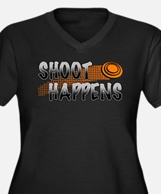 Shoot Happens Plus Size T-Shirt
