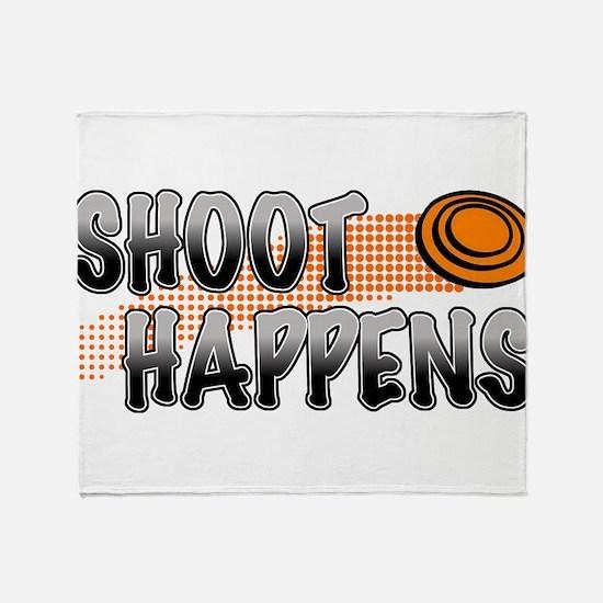 Shoot Happens Throw Blanket