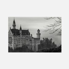 Funny Castle germany Rectangle Magnet