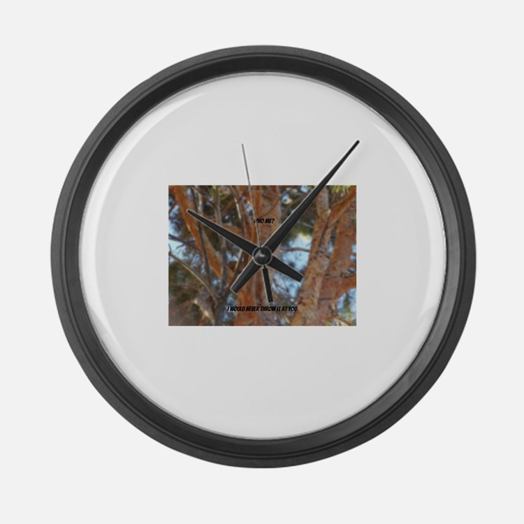Who me? Large Wall Clock
