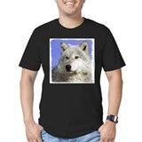 Wolf Fitted T-shirts (Dark)
