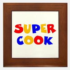 super cook Framed Tile