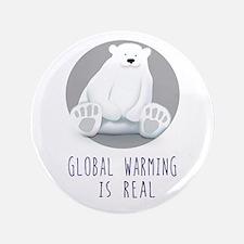 Cute Sierra club global warming earth Button
